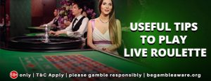 Useful tips to play Live Roulette