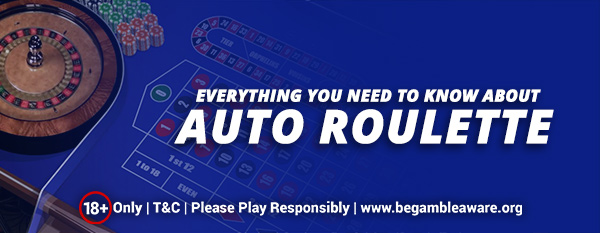 Everything You Need To Know About Auto Roulette
