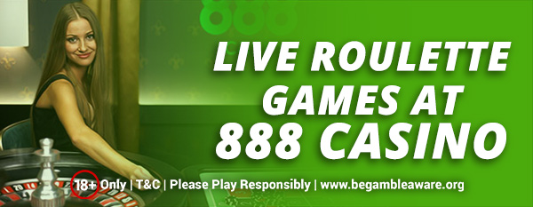 Live Roulette games at 888 Casino